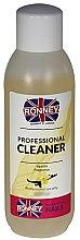 """Profumi e cosmetici Sgrassante unghie """"Vanilla"""" - Ronney Professional Nail Cleaner Vanilia"""