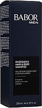"Profumi e cosmetici Gel doccia shampoo ""Attivatore energetico"" - Babor Men Energizing Hair & Body Shampoo"