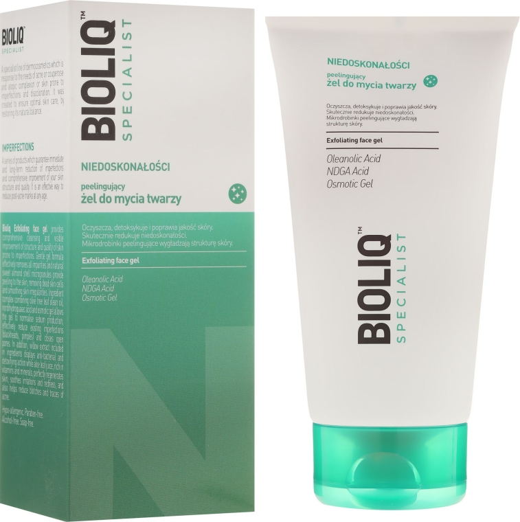 Gel esfoliante viso - Bioliq Specialist Exfoliating Face Gel