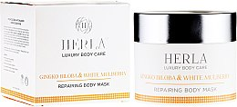 Profumi e cosmetici Maschera corpo rigenerante - Herla Luxury Body Care Gingko Biloba & White Mulberry Body Mask