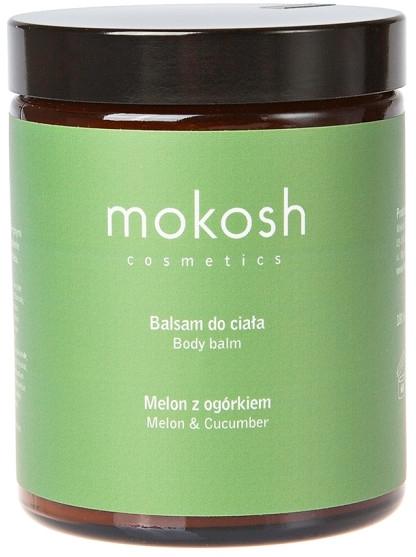 """Balsamo corpo """"Melone e cetriolo"""" - Mokosh Cosmetics Body Balm Melon & Cucumber (mini) — foto N1"""