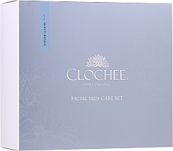 Profumi e cosmetici Set - Clochee Facial Skin Care Moisturising Set (ser/30ml + eye/cr/15ml + candle)