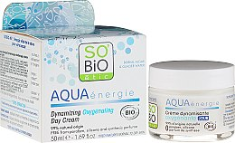 Profumi e cosmetici Crema-gel da giorno - So'Bio Etic Aqua Energie Dynamic Oxygen-Rich Gel Day Cream