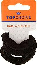 Profumi e cosmetici Elastici per capelli 4 pz, neri - Top Choice