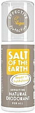 Profumi e cosmetici Deodorante spray naturale - Salt of the Earth Amber & Sandalwood Natural Deodorant Spray
