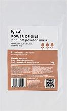 """Profumi e cosmetici Maschera viso """"Potenza degli oli"""" - Lynia Power Of Oil Peel Off Powder Mask"""