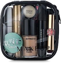 "Profumi e cosmetici Beauty Case trasparente ""Visible Bag"" (senza cosmetici) 12x12x5cm - MakeUp"
