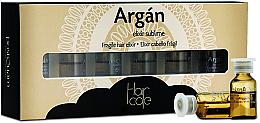 Profumi e cosmetici Fiale elisir di argan - PostQuam Argan Fragile Hair Elixir