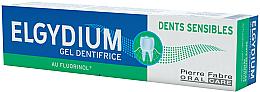 Profumi e cosmetici Dentifricio in gel - Elgydium Sensitive Teeth Toothpaste Gel