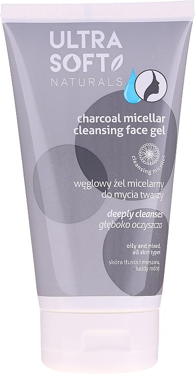 Gel detergente micellare al carbonio - Tolpa Ultra Soft Micellar Face Gel