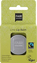 """Profumi e cosmetici Balsamo labbra """"Lime"""" - Fair Squared Lip Balm Lime"""