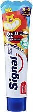 Profumi e cosmetici Dentifricio al gusto di frutta, per bambini dai 3 ai 6 anni - Signal Kids Fruit Flavor Toothpaste
