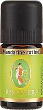 Profumi e cosmetici Olio essenziale - Primavera Essential Oil Mandarin Red Bio