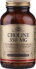 """Profumi e cosmetici Integratore alimentare """"Colina"""" - Solgar Choline 350 mg"""