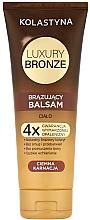 Profumi e cosmetici Balsamo abbronzante per la pelle scura - Kolastyna Luxury Bronze Tanning Balm