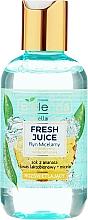 Profumi e cosmetici Acqua micellare idratante bioattiva - Bielenda Fresh Juice Micellar Water Pineapple