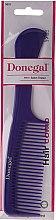 Pettine per capelli 21 cm, viola - Donegal Hair Comb — foto N2