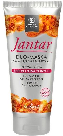 Maschera per capelli danneggiati - Farmona Jantar Hair Mask