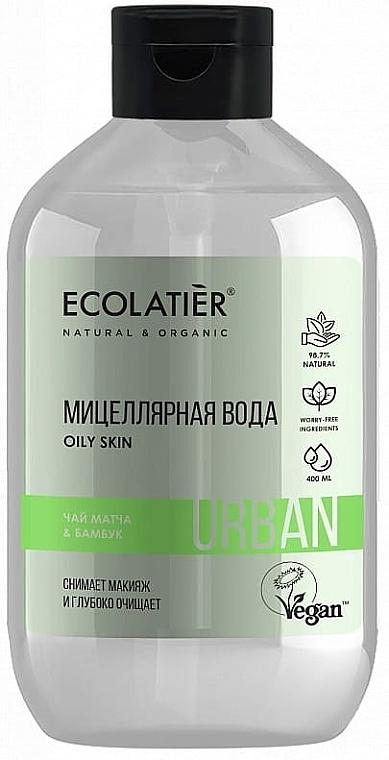 """Acqua micellare struccante """"Tè matcha e bambù"""" - Ecolatier Urban Micellar Water"""