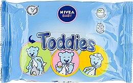 Profumi e cosmetici Salviettine umidificante per bambini - Nivea Baby Toddies Multifunctional Napkins
