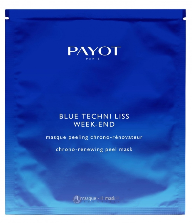 Maschera-peeling rinfrescante - Payot Blue Techni Liss Week-End — foto N1
