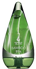 "Profumi e cosmetici Gel per viso, corpo e capelli ""Bamboo"" - Miracle Island Bamboo 95% All In One Gel"