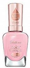 Profumi e cosmetici Smalto per unghie all'olio di argan - Sally Hansen Color Therapy Sheer Nail Color
