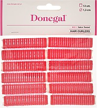 Profumi e cosmetici Bigodini in velcro, 13 mm, 12 pz - Donegal Hair Curlers