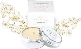 """Profumi e cosmetici Candela da massaggio """"Ciliegia"""" - Almond Cosmetics Cherry Blossom Massage Candle"""