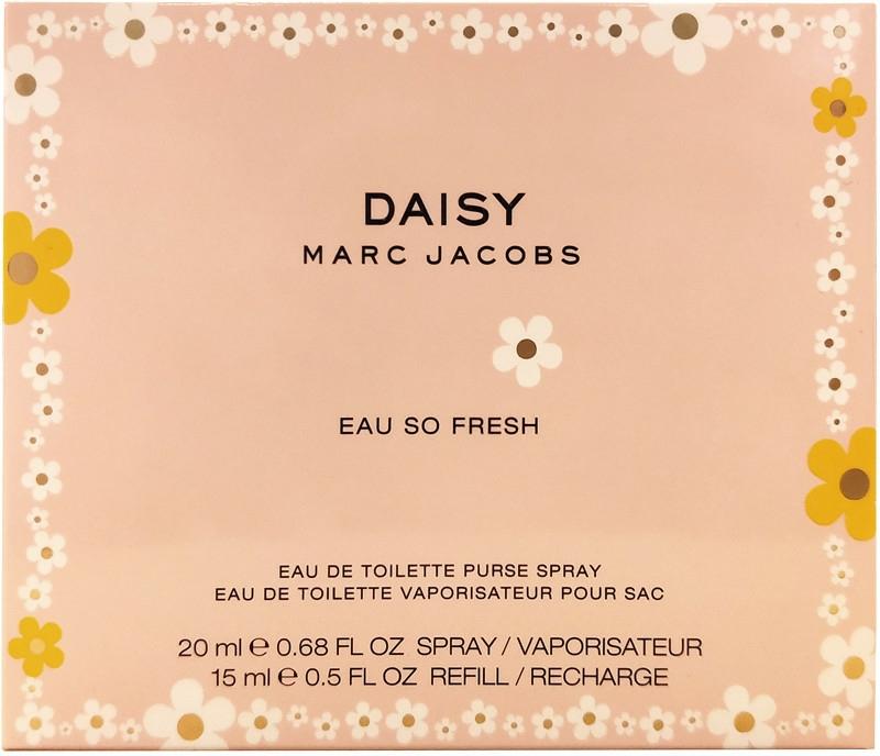 Marc Jacobs Daisy Eau So Fresh - Set (edt/20ml + edt/15ml refil) — foto N1