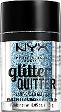 Profumi e cosmetici Glitter per viso e corpo - NYX Professional Makeup Glitter Quitter Plant-Based Glitter