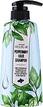 Profumi e cosmetici Shampoo per capelli grassi - Welcos Around Me Peppermint Fresh Hair Shampoo