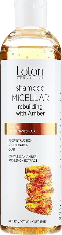 Shampoo micellare all'ambra - Loton
