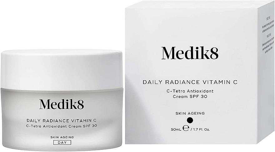 Crema antiossidante C-Tetra con SPF 30 - Medik8 Daily Radiance Vitamin C