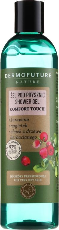 Gel doccia per pelli secche - Dermofuture Nature Shower Gel Comfort Touch