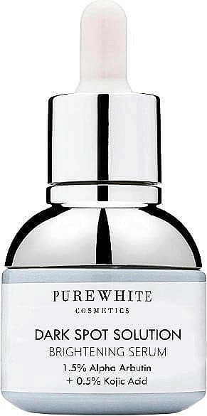 Siero schiarente per macchie scure - Pure White Cosmetics Dark Spot Solution Brightening Serum — foto N1