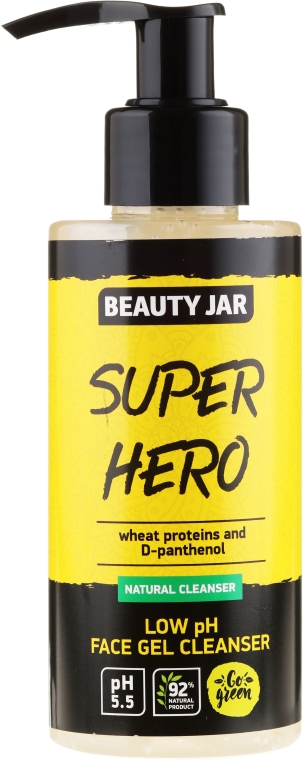 "Gel detergente ""Super hero"" - Beauty Jar Low Ph Face Gel Cleanser"
