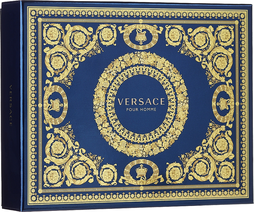 Versace Pour Homme - Set (edt/50ml + sh/g/50ml + ash/balm/50ml)