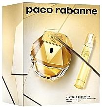 Profumi e cosmetici Paco Rabanne Lady Million Traveler Exclusive - Set (edp/80ml + edp/10ml)