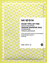 Maschera in tessuto rassodante - Mizon Enjoy Vital-Up Time Soothing Mask — foto N1