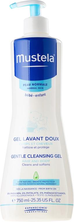 Gel detergente per bambini e neonati - Mustela Bébé Dermo-Cleansing