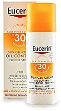 Profumi e cosmetici Crema-gel protezione solare per la pelle grassa e con acnee - Eucerin Sun Gel-Cream Oil Control SPF30