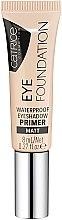 Profumi e cosmetici Primer impermeabile per palpebre - Catrice Eye Foundation Waterproof Eyeshadow Primer