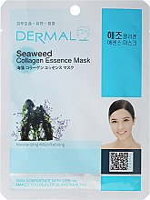 Profumi e cosmetici Maschera con collagene e alghe - Dermal Seaweed Collagen Essence Mask