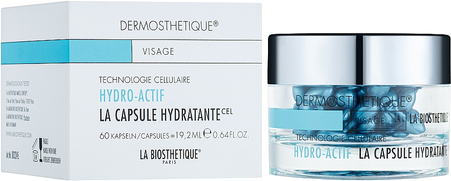 Capsule in gel idrolipidico per pelli disidratate - La Biosthetique Dermosthetique Hydro-Actif La Capsule Hydratante