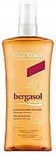 Profumi e cosmetici Olio solare corpo - Noreva Laboratoires Bergasol Sublim Satiny Sun Oil SPF10